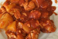 Sauté de dinde à la tomate Quiches, Chicken Wings, Meat, Ethnic Recipes, Poultry, Cooking, Tomatoes, Chicken, Pies