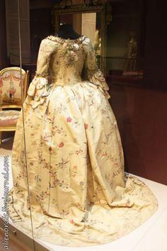 Robe à l'anglaise. 1760-е гг.