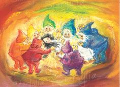 Snow White and the Seven Dwarfs illus. by Marjan van Zeyl