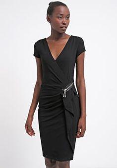 Robes T-shirt Morgan RAI - Robe en jersey - noir noir: 26,55 € chez Zalando (au…