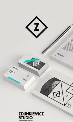 Z | #stationary #corporate #design #corporatedesign #identity #branding #marketing < repinned by www.BlickeDeeler.de | Take a look at www.LogoGestaltung-Hamburg.de
