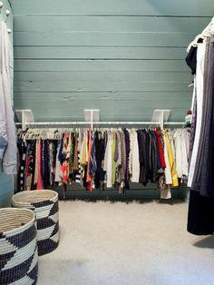 Ankleidezimmer ideen dachschräge  Unterm Dach: Schlafzimmer mit Schrägen einrichten | Dachs und ...