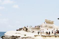 Kapurpurawan Rock Formation in Burgos, Ilocos Norte Philippines Destinations, Philippines Beaches, Philippines Travel, Places To Travel, Places To See, Travel Local, Ilocos Norte Philippines, President Of The Philippines, Around The World In 80 Days