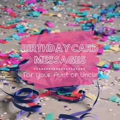 Aunts and uncles are like parents but more fun—they deserve awesome birthday wishes! Special Birthday Wishes, Happy Birthday Friend, Birthday Wishes Funny, Happy Birthday Images, Happy Birthday Greetings, Birthday Fun, Birthday Quotes, Funny Birthday Message, Birthday Card Messages
