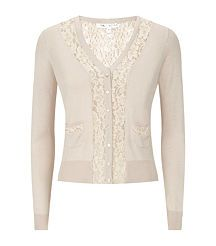 View the V-Neck Lace Cardigans
