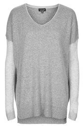 Double Layer Sheer Solid Sweat