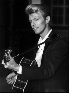 David Bowie, 1990. Press conference in London to promote the Sound + Vision…