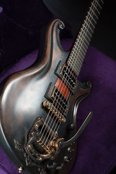 This is a really cool looking guitar!