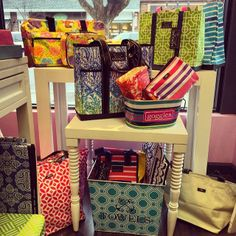 Spring 2014 SCOUT patterns looking gorgeous on display at Pink Bungalow! (locations in Ridgewood, Upper Montclair, Madison, and Caldwell)