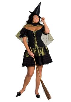 Plus Size Wicked Witch of the West Costume Follow My Pinterest: @vickileandro