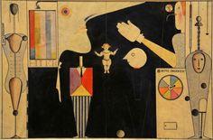 Oskar Schlemmer 1922 The Figural Cabinet (Das figurale Kabinett)
