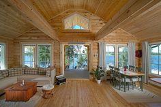 Holiday home KU82 - customer modification - Kuusamo Log Houses
