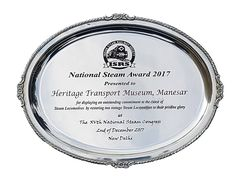 National Steam Award 2017 by Indian Steam Railway Society. Transport Museum, Steam Railway, Collections Of Objects, Awards 2017, Incredible India, Transportation, Indian, Indian People