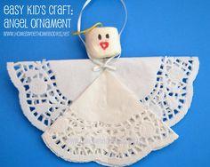 Angel Ornament Kid's Craft