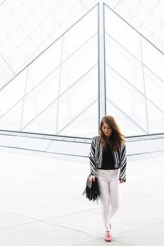 Lea Franges bag by @Elodie In Paris | Anne Fontaine