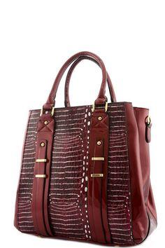 Jocelyn Laser Cut Top Handle Handbag