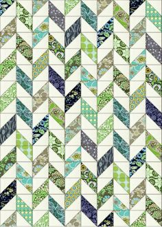 Beautiful quilt design (as always!) and I love the simplicity of this one, just lovely when yo ureally want to showcase fabrics. @ Bloom