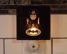 SAMPLE Sell-Off    OZZY Versus BATMAN Etched Glass Black Wall Black Wall Tiles, Black Walls, Etched Glass, Glass Etching, A Cartoon, Cartoon Images, Night Light, I Shop, Batman