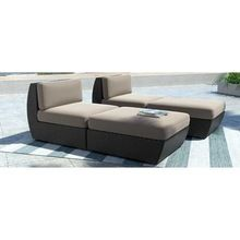 Sillas reclinables cama solar y ratán muebles de mimbre al aire libre otomana…