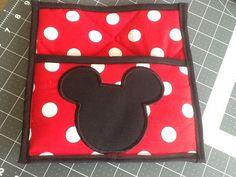 Mickey Mouse Potholder by MeridaMerchandise on Etsy, $8.50