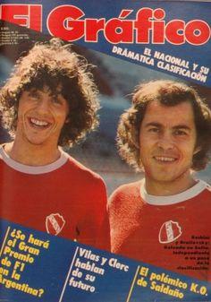 1980 Bochini y Brailovsky. National League, Club, Baseball Cards, Tapas, Good Vibes, Sports, Argentina, Hobbies