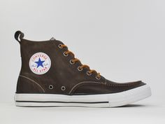 Converse leather winter shoes
