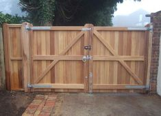 wooden fence gates | Wooden Fence Gate Fences And Gates Pic #23