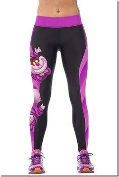 Cheshire Cat running pants #Gadget #Music #Run Also, find Amazing Wireless Earphones here http://amzn.to/1IfqTTp http://amzn.to/2k2HTMQ