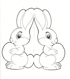 occuper vos enfants - Page 5 - Basteln dekoration Easter Coloring Pages, Colouring Pages, Happy Easter, Easter Bunny, Easter Crafts, Crafts For Kids, Easter Printables, Easter Activities, Spring Crafts