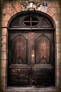 Sturdy doors.