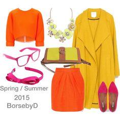 Sunny spring by borsebyd on Polyvore featuring moda, Maticevski, Zara, Tamara Mellon, Jigsaw, L. Erickson, yellow, bags and BorsebyD