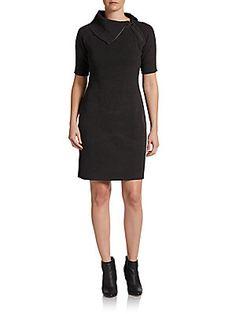 e24ef6c871e Calvin Klein Sleeveless Front Slit Solid Sheath Dress  Dillards ...