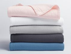 Washed Matelassé Stroller Blanket | Gifts | Baby | Little Coyuchi | Coyuchi