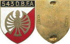 543° Demi Brigade de Fusiliers Commandos de l'Air, dos lisse doré, Drago (E72)  | eBay