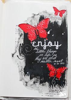 EnjoyTheLittleThingsAndreaWalford Art Journal Conversations: Andrea Walford