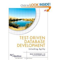 Currently reading: Test-Driven Database Development: Unlocking Agility (Net Objectives Lean-Agile Series): Max Guernsey III: 9780321784124: Amazon.com: Books Science Books, Computer Science, Agile, Reading Test, Guernsey, Amazon, Amazons, Riding Habit, Computer Technology