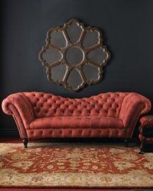 mirror & sofa