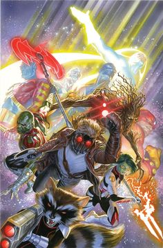 Alex Ross - Guardians of the Galaxy Variant Cover
