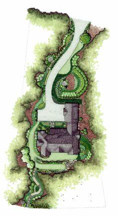 landscape hand sketch
