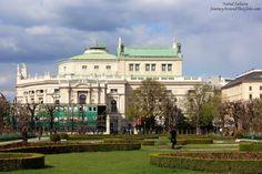 Burg Theater as seen from Volks Garden in Vinnea