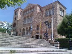 The church of Agios Dimitrios. The biggest church of Thessaloniki