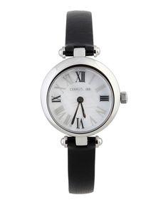 Orologio donna cerruti - tipo di vetro  vetro minerale - materiale della cassa acciaio - cinturino di pelle nero - Orologio uomo Crm053a222a