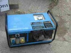"Compact 2.4kva petrol Generator with a Honda engine.   Can produce 110v for building site work or 240v for normal applications.   Don't expect the electricity to be as ""smooth"" as an inverter  or one of the larger generators."