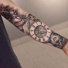 Amazing sleeve tat!  Follow my 2nd acc for more: @inkspiringtattoos @inkspiringtattoos! (Artist: @darwinenriquez)