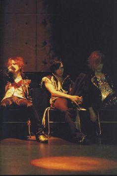Ruki, kai and Uruha - the GazettE<3