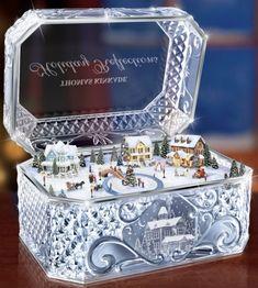 Crystal Music Box by Thomas Kinkade