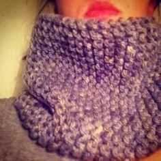Autumncoming | woolen scarf | onlyoneloop lovepurple #ninna