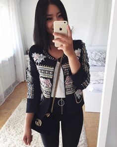 "12.6 mil curtidas, 60 comentários - Thanya (@thanyaw) no Instagram: "" - Jacket: @fashionenvogue.de Pants: @dishee_fashion"""