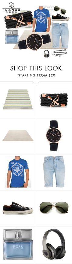 """Francoflorenzi 14"" by lejla150 ❤ liked on Polyvore featuring Pappelina, ESPRIT, Affliction, Topman, Converse, HUGO, Beats by Dr. Dre, men's fashion, menswear and francoflorenzi"