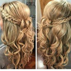 Bridesmaid hair!!